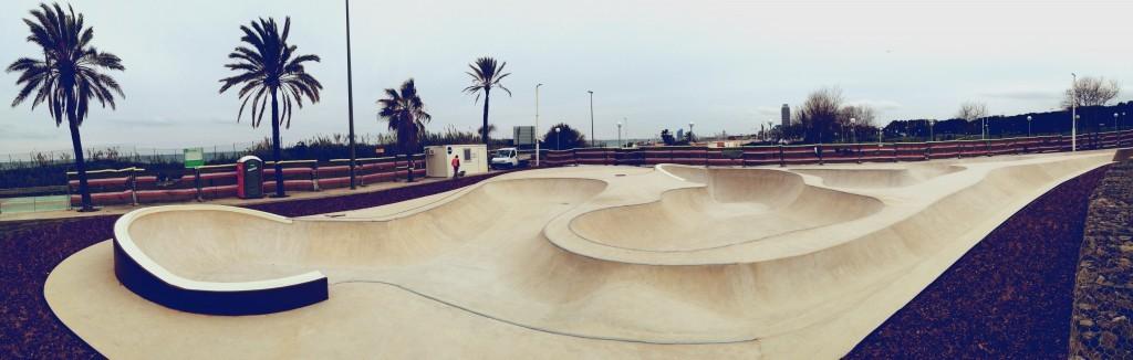 construccion de skateparks barcelona