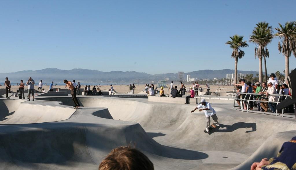 construccion de skateparks Los Angeles