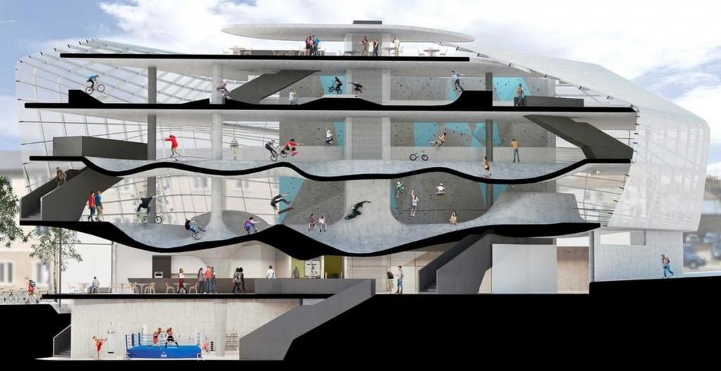 diseño y construcción de skateparks