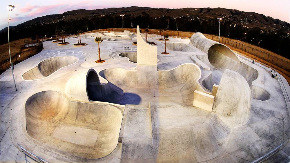 Construcción de skatepark